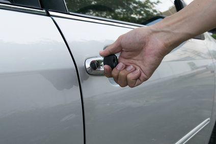 Auto auschließen Reserveschlüssel