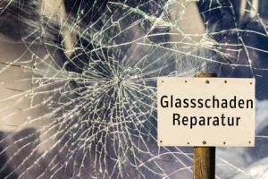 Glassschaden Reparatur